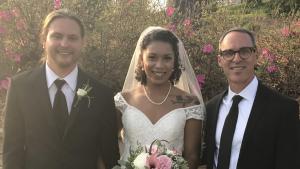 a picturesque april wedding