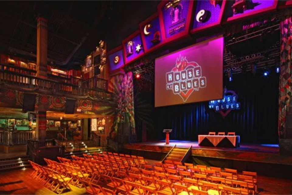 The House of Blues - Sensational Ceremonies