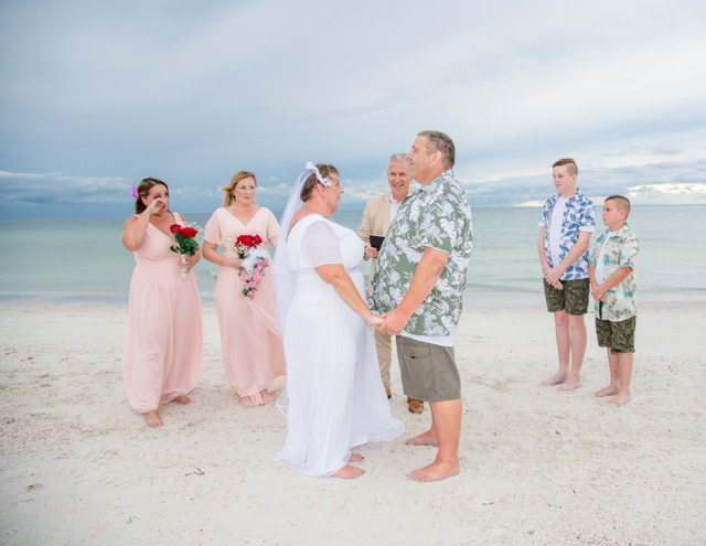 SC Officiant Rick Lackore at North Clearwater Beach